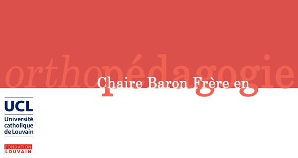 Logo chaire Baron Frère