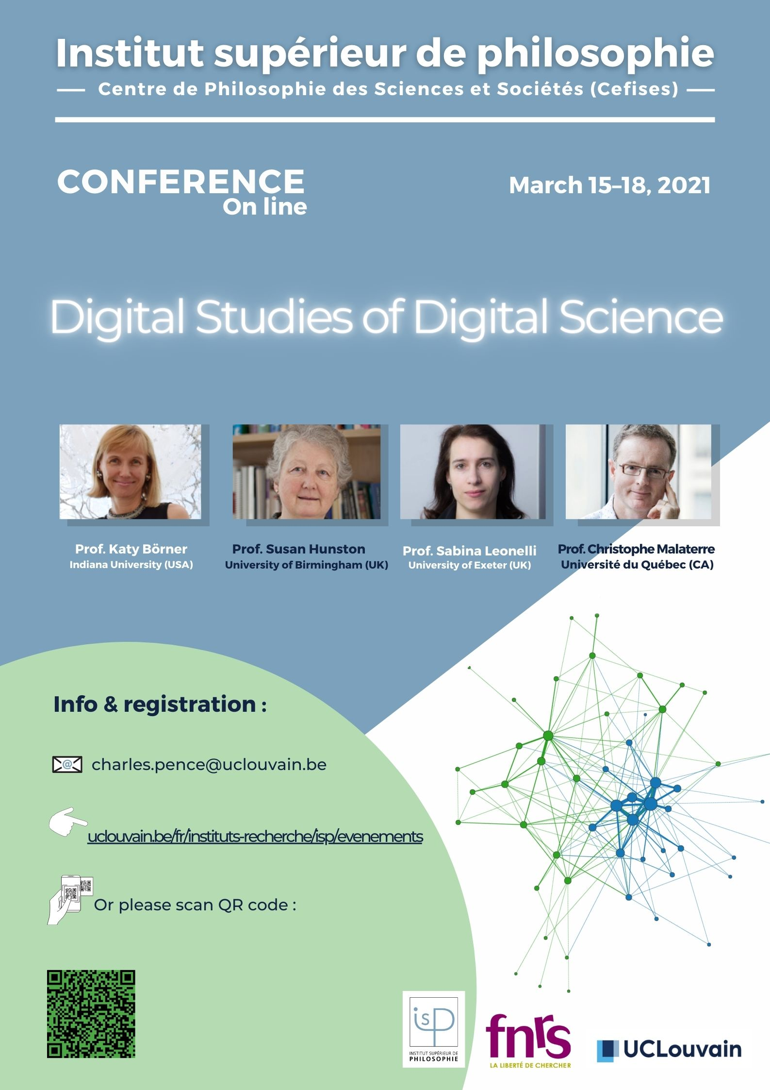"Cefises event ""Digital Studies of Digital Science"" will take place from March 15-18, on line"