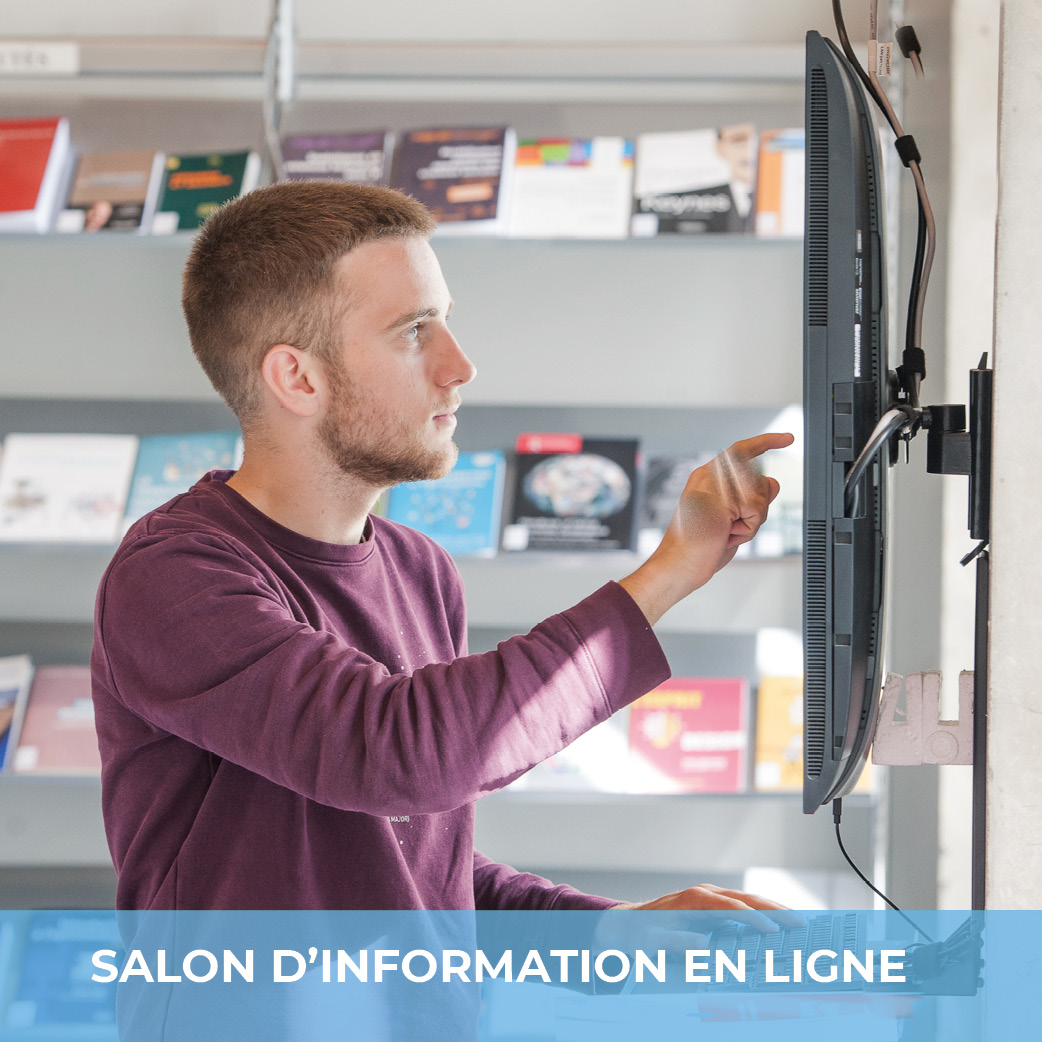 Salon virtuel d'information