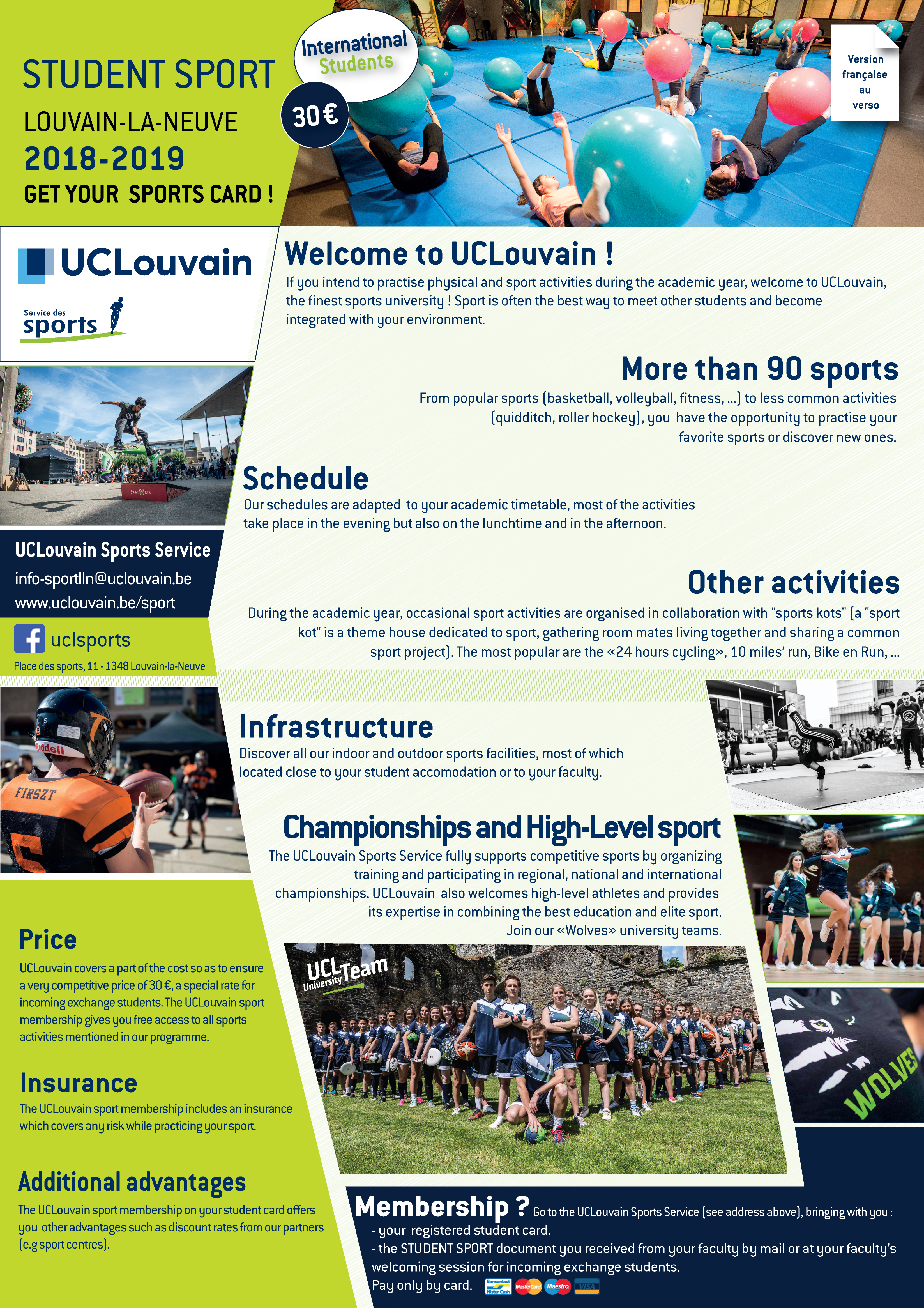 Discover the program of sports activities 2018-2019 67b440cc59f