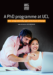 A PhD programme at UCL