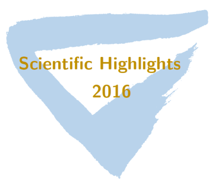 ICTEAM Scientific Highlights 2016